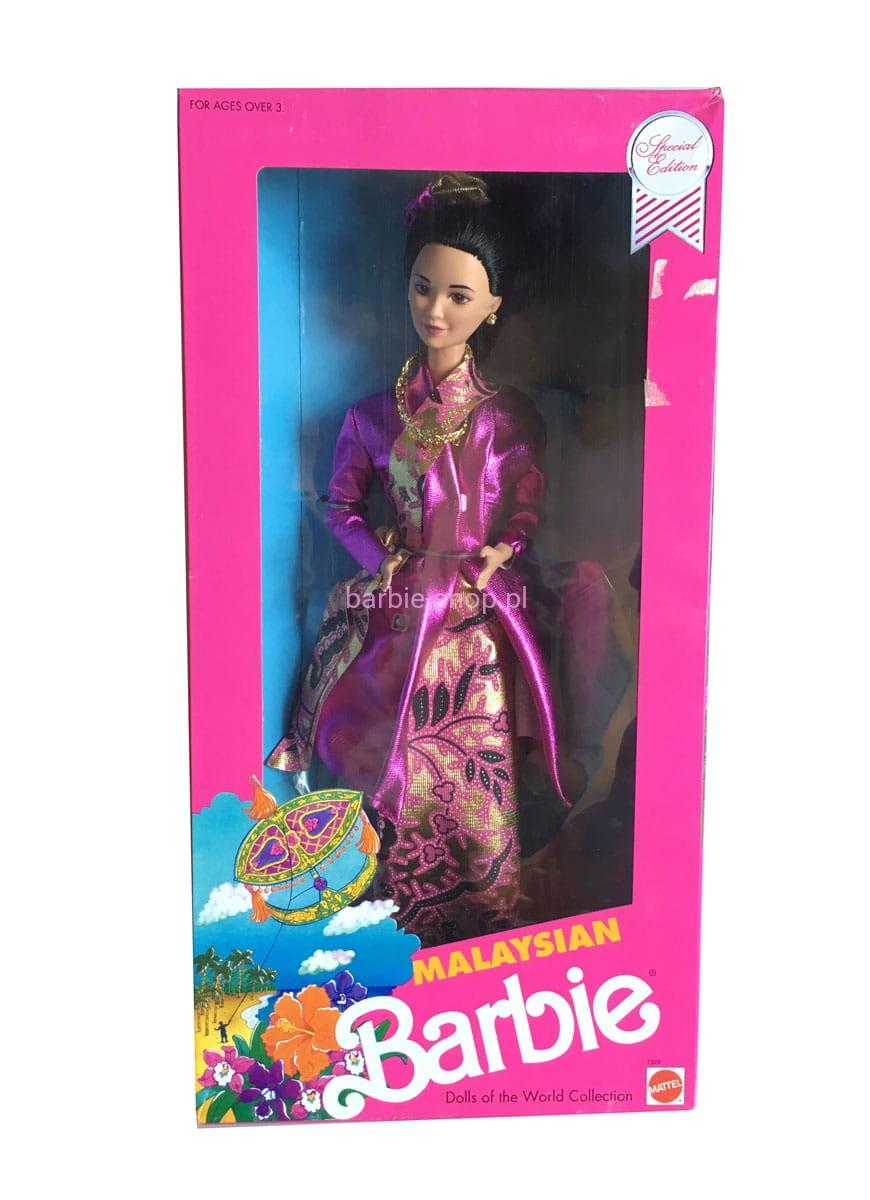 1990 Barbie Dolls Of The World Malaysian Katalog Berbie Baju 1 2