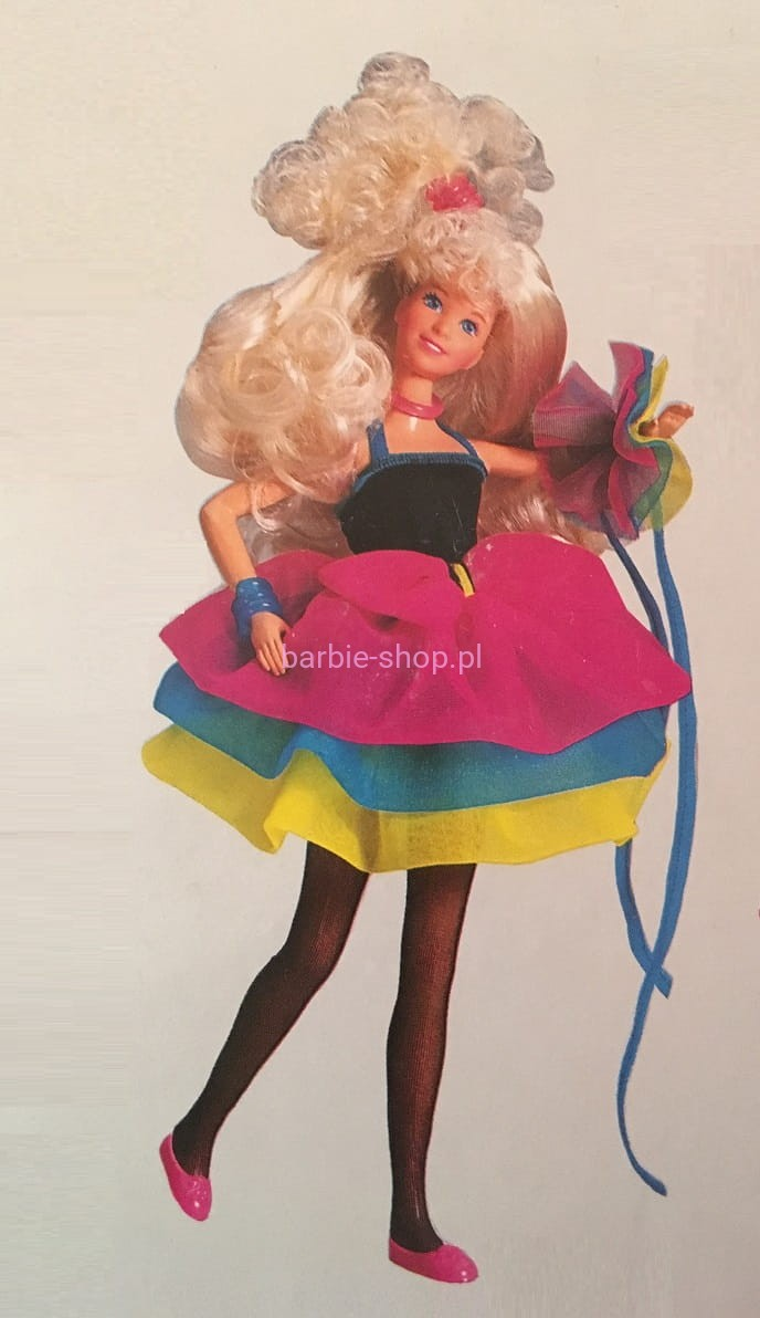 1988 Barbie Teen Dance Jazzie  Video  Barbie-Shoppl-9206