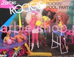 1986 Barbie and The Rockers ROCKIN' POOL PARTY Playset