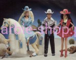1993  Barbie  Western  Stampin  ( Video )