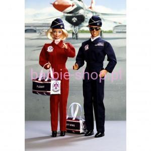1993  Army Air Force Barbie & Ken  Deluxe Set