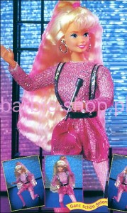 1994  Dance Moves  Barbie  Blond  ( Video )