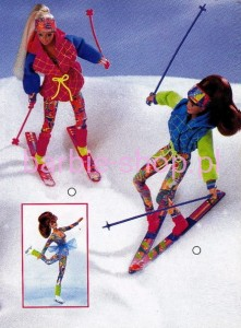 1994    Barbie  Winter Sport   (Video)