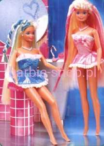 1995  Barbie Foam'n Color pink  ( Video )