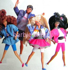 1988  Barbie Jazzie High School ( Video )