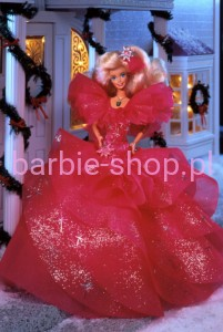 1990  Happy Holidays  Barbie
