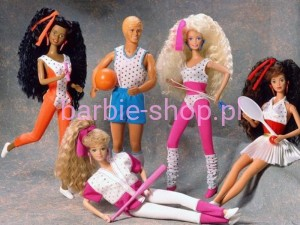 1989  Barbie All Stars Midge Piegowata ( Video )