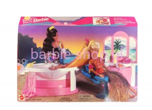 1996  Hula Hair Barbie Shampoo 'N Style Salon