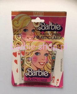 1979 Barbie  Plastic Coated Playing Cards