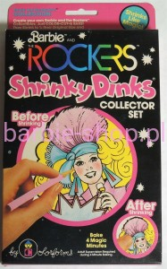 1983  The Rockers Shrinky Dinks
