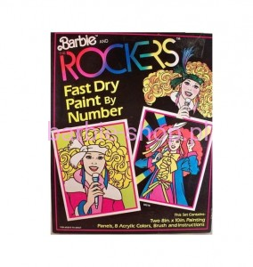 1987  The Rockers Paint by Number