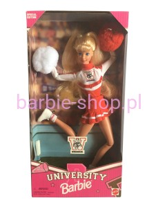 1996    Cheerleader Barbie  University of Wisconsin