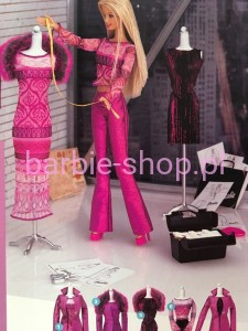 2000  Barbie Fashion Desinger Set