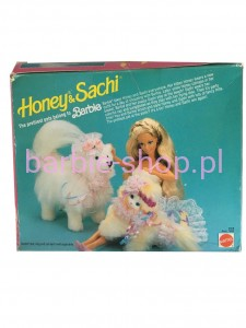 1991  Barbie Wierny Pies Sachi   ( Video )