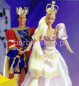 1997  Rapunzel Fairytale Barbie / Roszpunka ( Video )