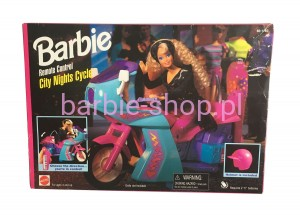 1995  Barbie Remote Control City Nights Cycle Motor
