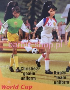 1998    Barbie Soccer  Teresa   Fifa  ( Video )