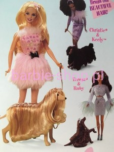 1999  Barbie Glam 'n Groom Set Lacey  (Video)