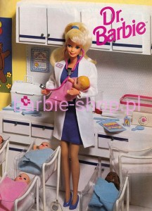 1993  Barbie   Dr. Doctor  (Video)