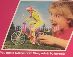 1993    Barbie  Bicyclin '  Rowerzystka ( Video )