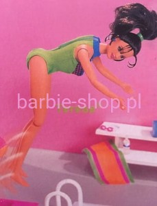 1997    Barbie  Flip 'n Dive Speedo Teresa  ( Video )