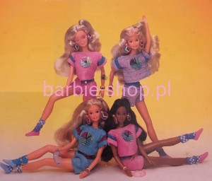 1986  Barbie   Funtime Purple  (Video)
