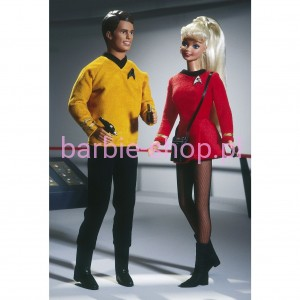 1996   Barbie & Ken Star Trek Zestaw