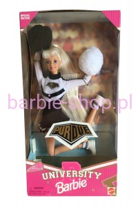 1996    Cheerleader Barbie University of  Purdue