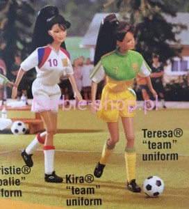 1998    Barbie Soccer  Kira  FIFA  (Video)