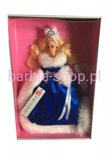 1990  Barbie  FAO Schwarz Winter Fantasy Barbie