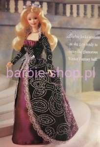 1996   Winter Fantasy  Barbie