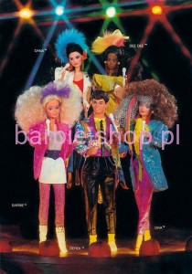 1986  Barbie   Barbie & The Rockers ( Video )
