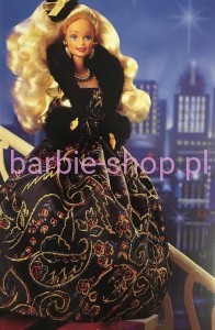 1993  Golden Winter  Barbie