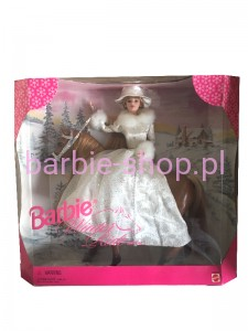 1998  Barbie Winter Ride  Zestaw