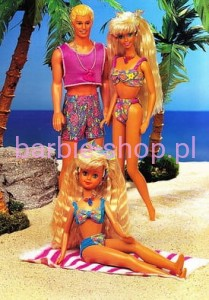 1992    Barbie  Glitter Beach  (Video)