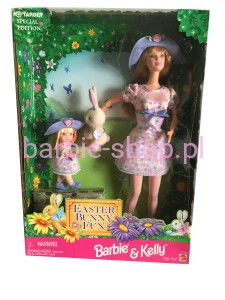 1998  Easter Bunny Fun  Barbie  / Wielkanoc